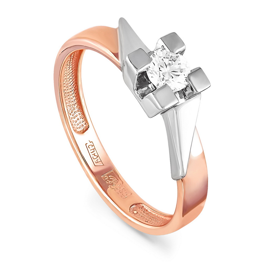 Золотое кольцо Бриллиант арт. 1-0282-1000 1-0282-1000
