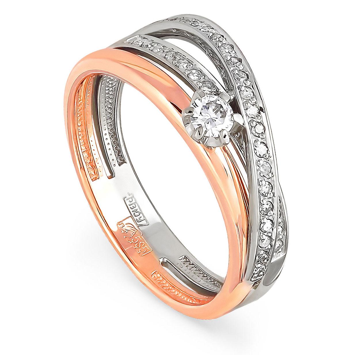 Золотое кольцо Бриллиант арт. 1-0307-1000 1-0307-1000