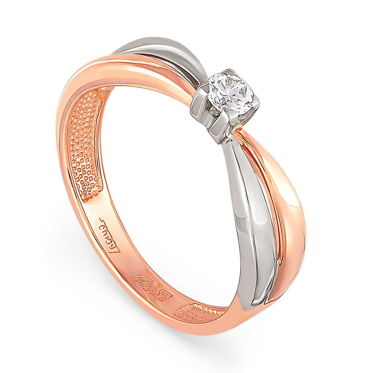 Золотое кольцо Бриллиант арт. 1-0309-1000 1-0309-1000