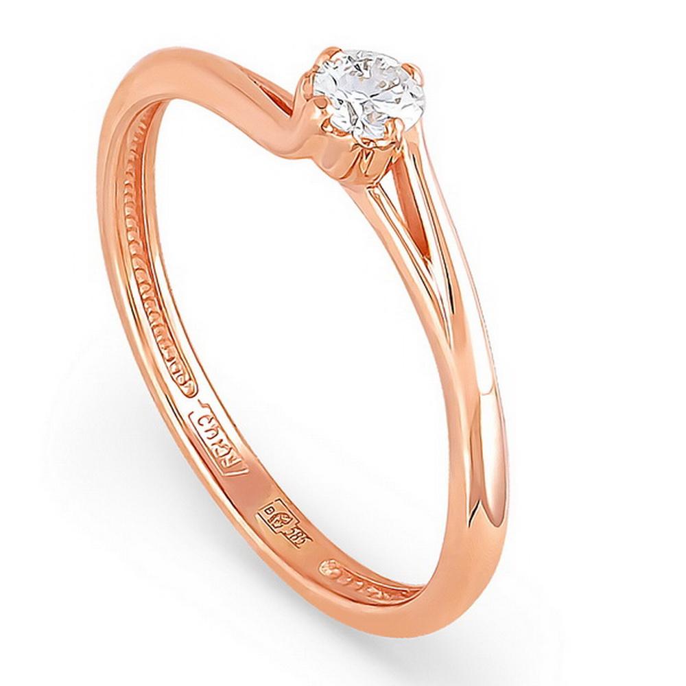 Золотое кольцо Бриллиант арт. 1-0310-1000 1-0310-1000