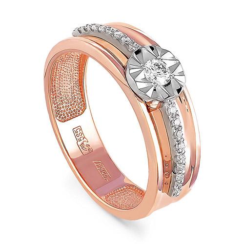 Золотое кольцо Бриллиант арт. 1-0323-1000 1-0323-1000