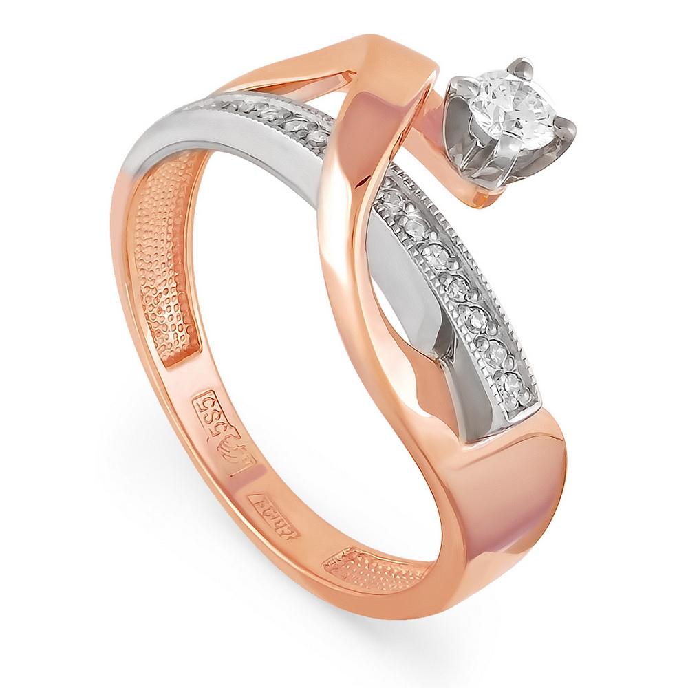 Золотое кольцо Бриллиант арт. 1-0345-1000 1-0345-1000