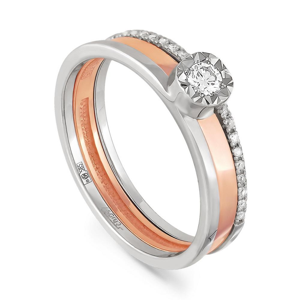 Золотое кольцо Бриллиант арт. 1-0347-1000 1-0347-1000