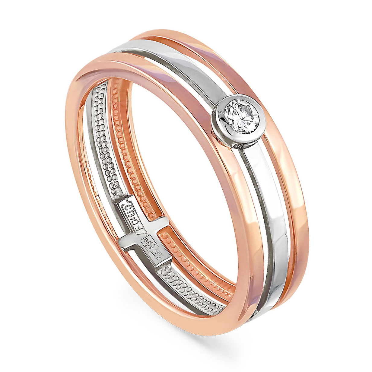 Золотое кольцо Бриллиант арт. 1-0359-1000 1-0359-1000