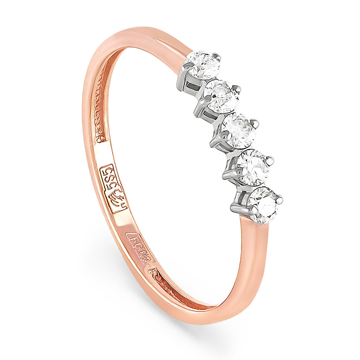 Золотое кольцо Бриллиант арт. 1-0388-1000 1-0388-1000