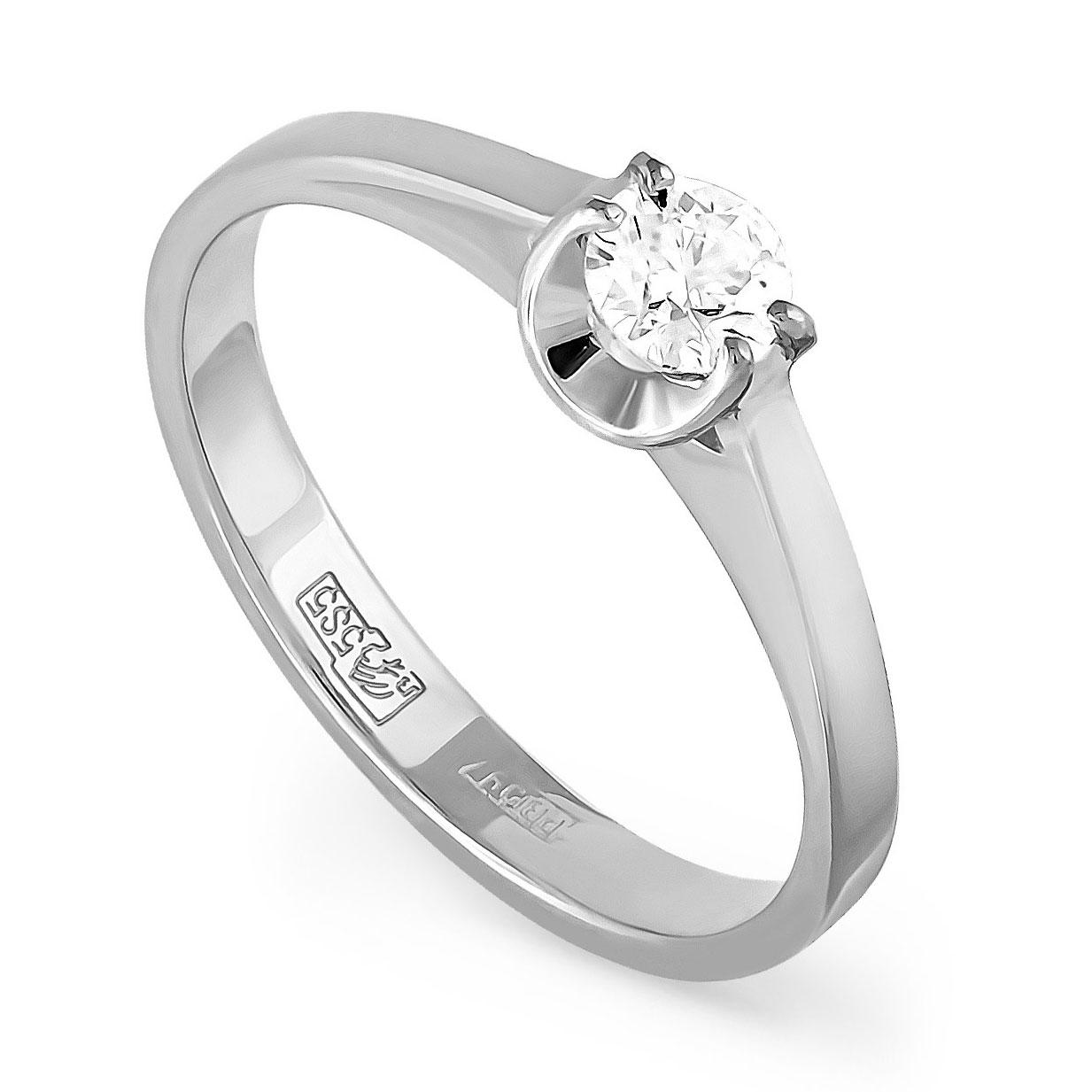 Кольцо из белого золота Бриллиант арт. 1-1048-1000 1-1048-1000