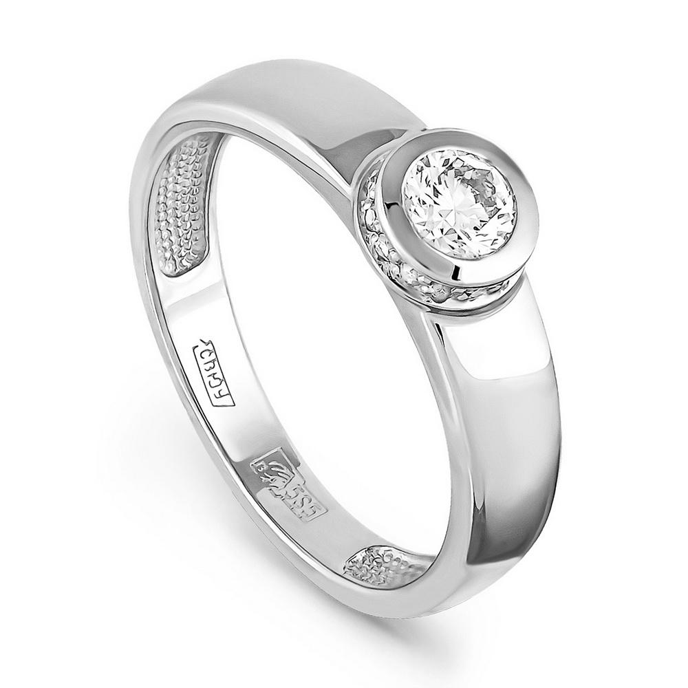 Кольцо из белого золота Бриллиант арт. 1-1222-1000 1-1222-1000
