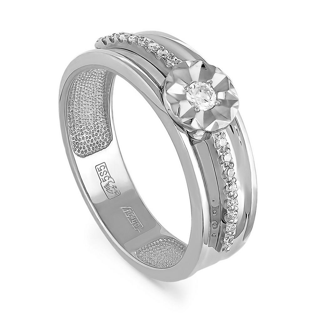 Кольцо из белого золота Бриллиант арт. 1-1335-1000 1-1335-1000