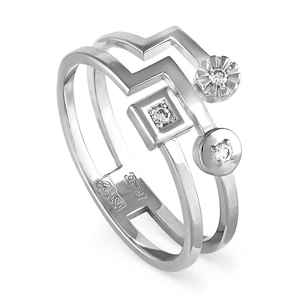 Кольцо из белого золота Бриллиант арт. 1-1398-1000 1-1398-1000