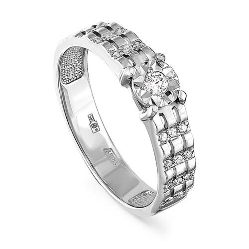 Кольцо из белого золота Бриллиант арт. 1-1437-1000 1-1437-1000