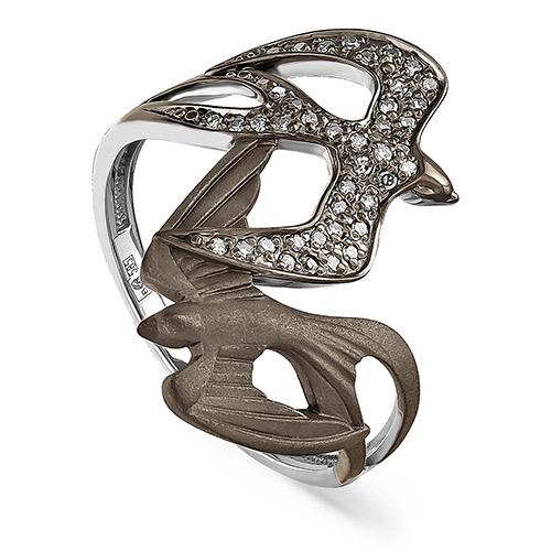 Кольцо из белого золота Бриллиант арт. 1-1440-1000 1-1440-1000