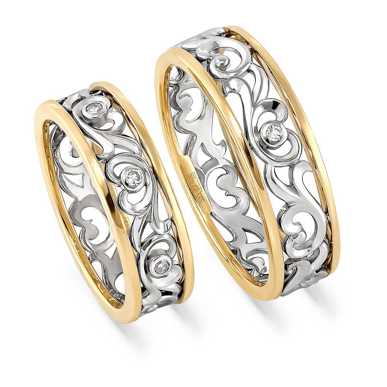 Кольцо из лимонного золота Бриллиант арт. 1-2318-1000 1-2318-1000