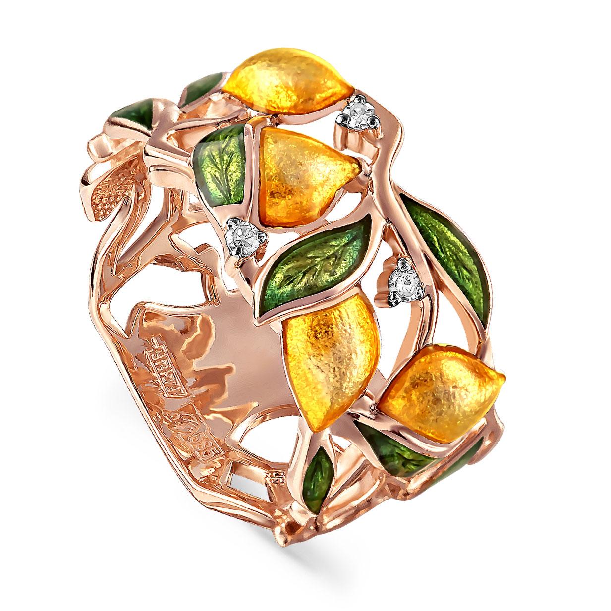 Золотое кольцо Бриллиант арт. 11-01110-1001 11-01110-1001
