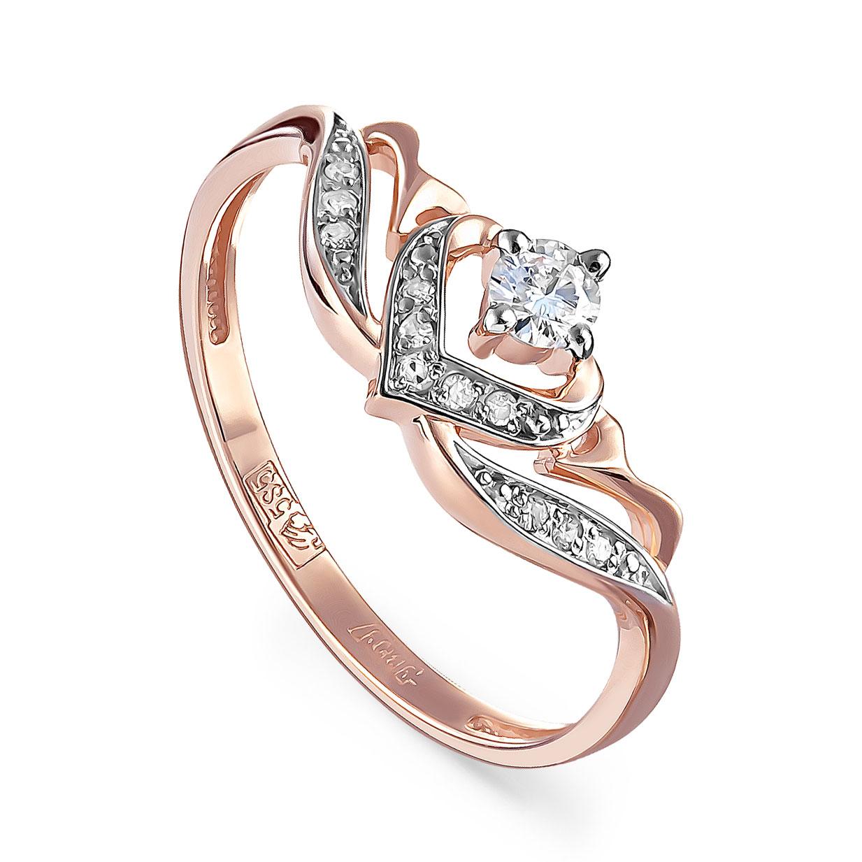 Золотое кольцо Бриллиант арт. 11-01211-1000 11-01211-1000