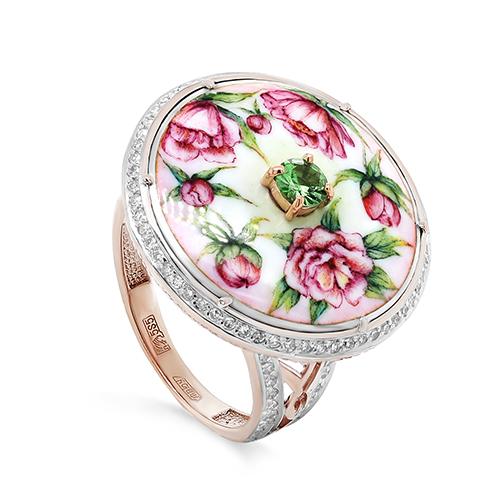 Золотое кольцо Бриллиант и Прочие арт. 11-01285-8822 11-01285-8822