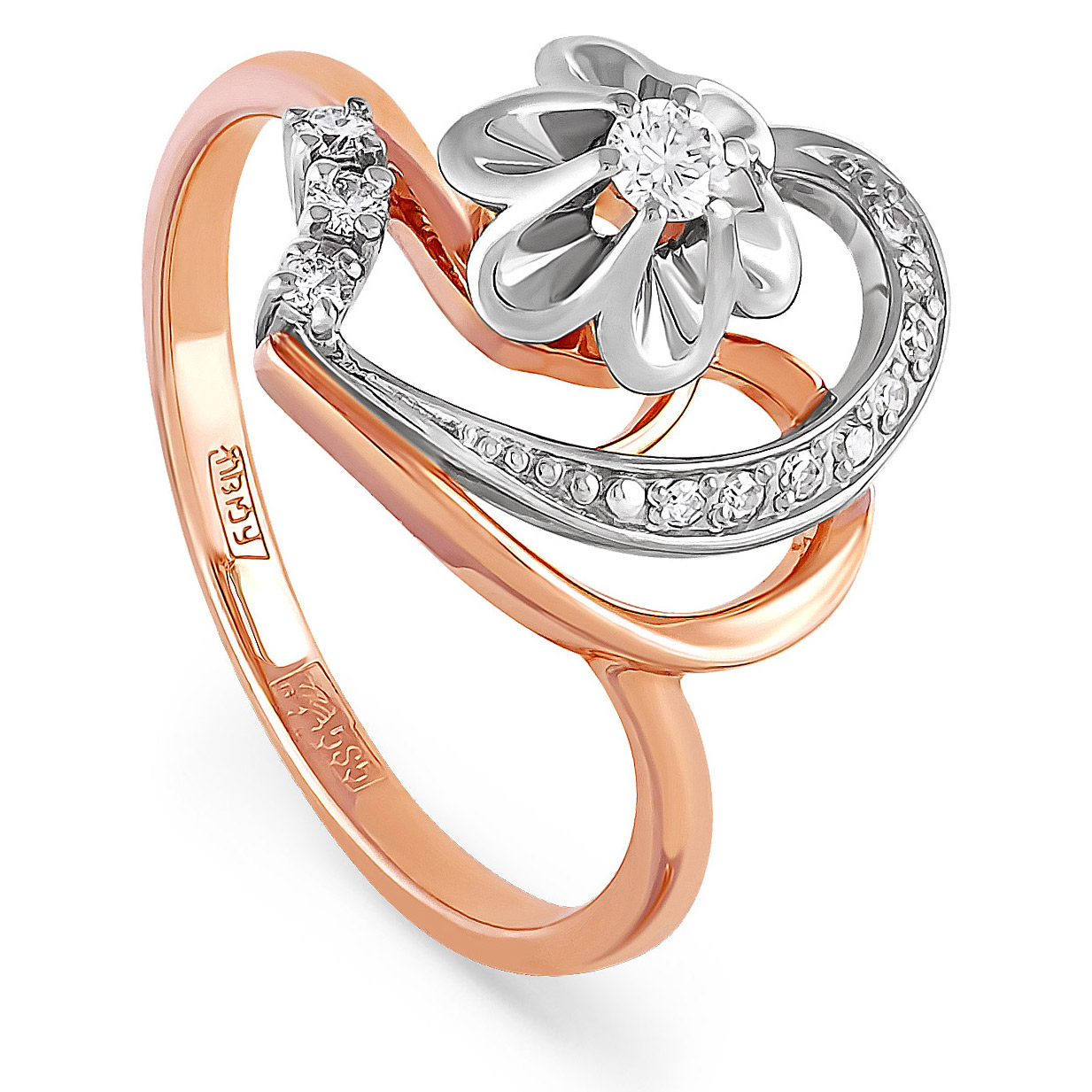 Золотое кольцо Бриллиант арт. 11-0328-1000 11-0328-1000