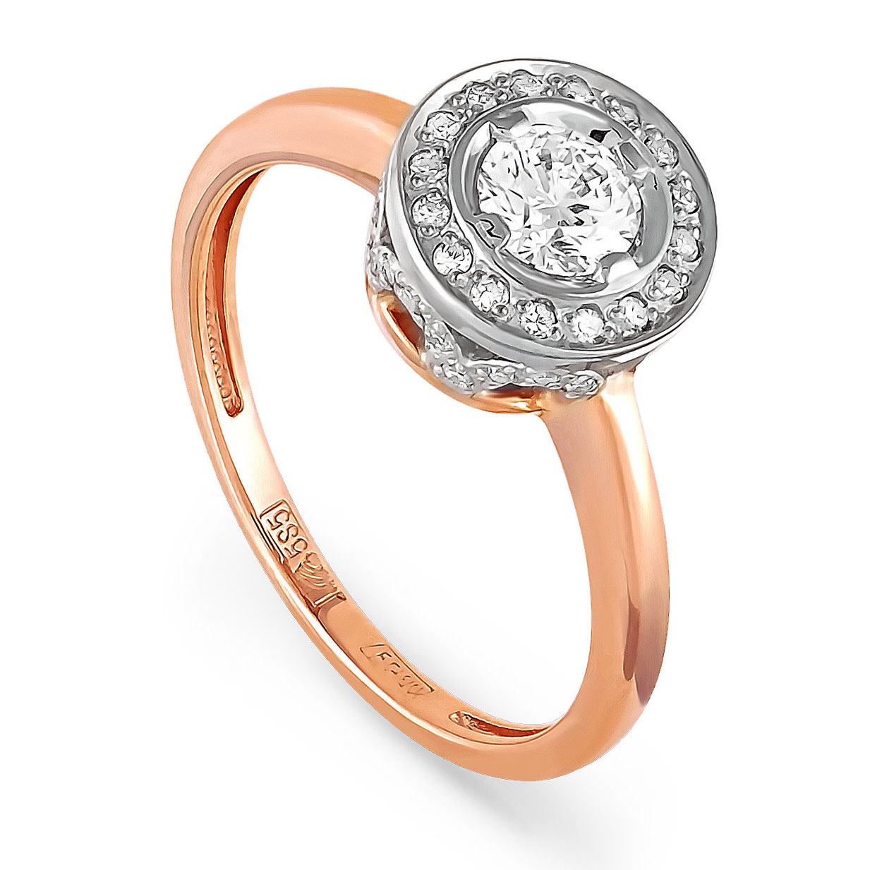 Золотое кольцо Бриллиант арт. 11-0392-1000 11-0392-1000