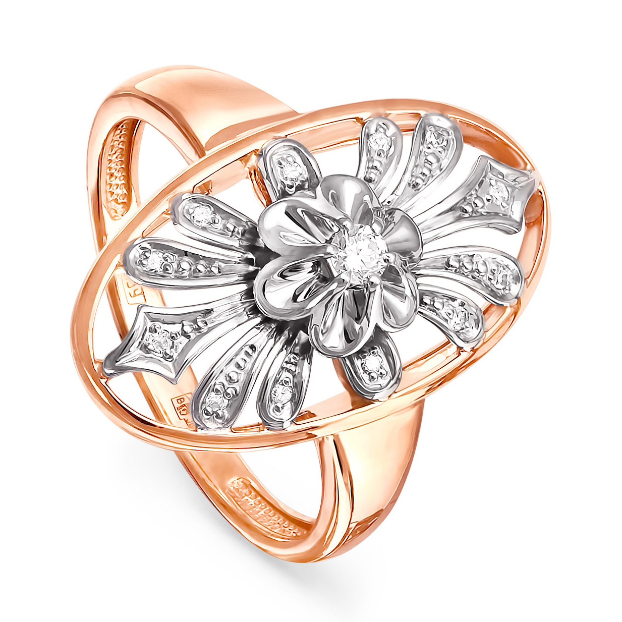 Золотое кольцо Бриллиант арт. 11-0564-1000 11-0564-1000