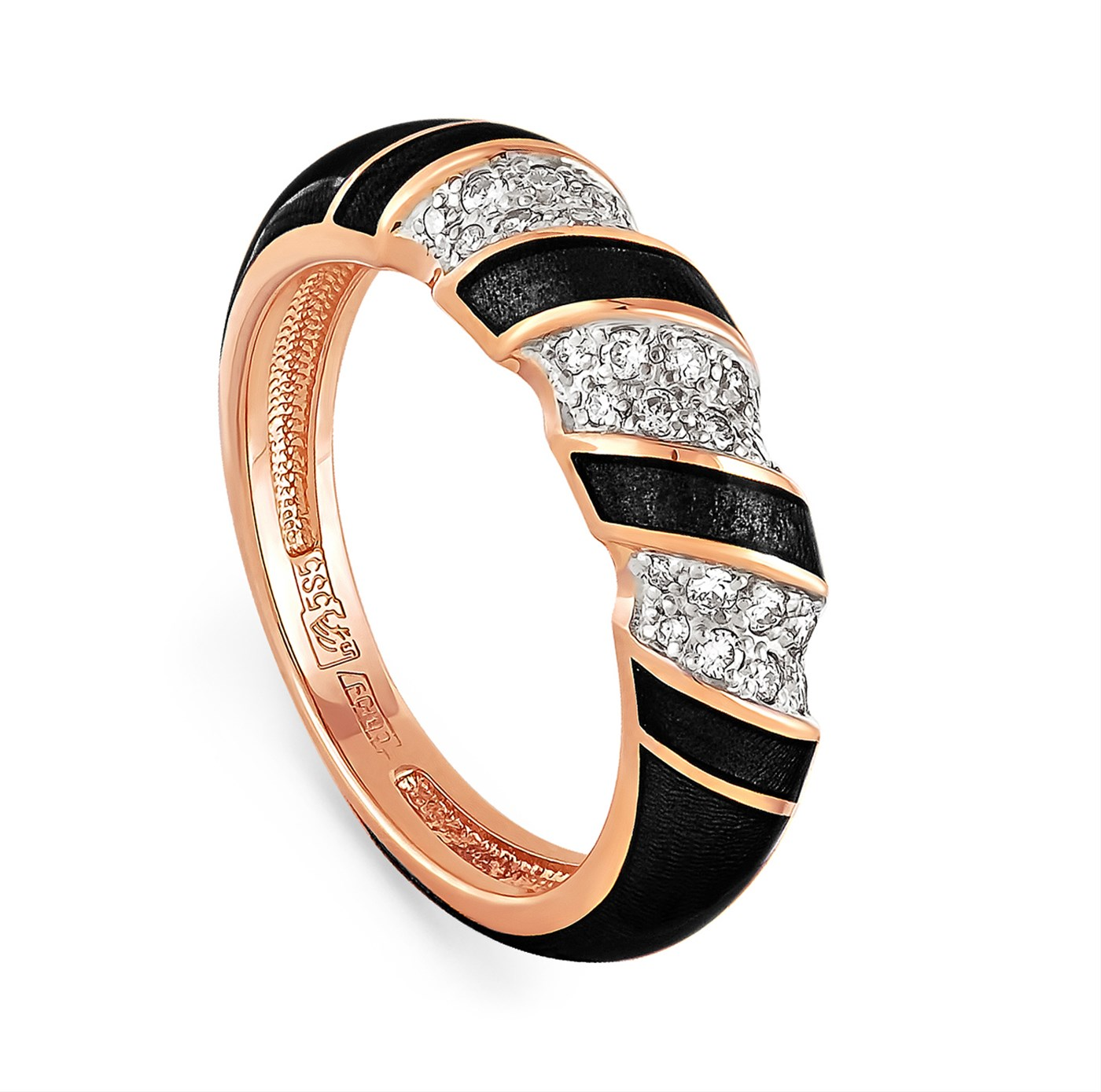 Золотое кольцо Бриллиант арт. 11-0590-1002 11-0590-1002