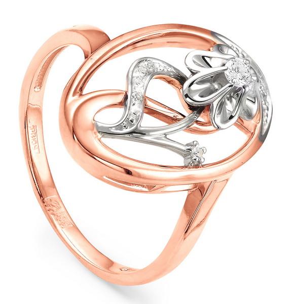 Золотое кольцо Бриллиант арт. 11-0737-1000 11-0737-1000