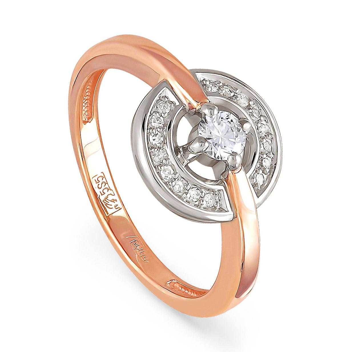 Золотое кольцо Бриллиант арт. 11-0766-1000 11-0766-1000