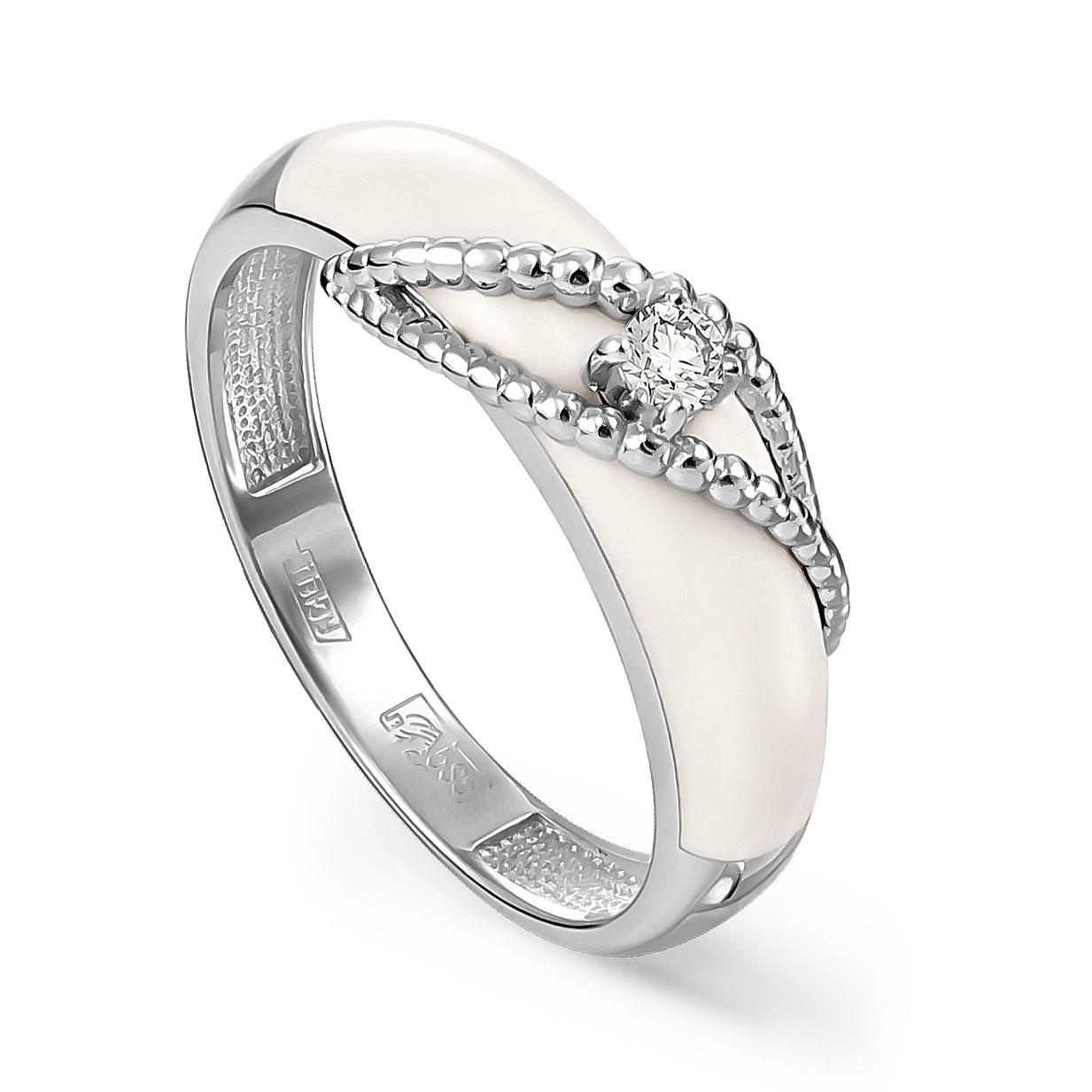 Кольцо из белого золота Бриллиант арт. 11-11067-1010 11-11067-1010