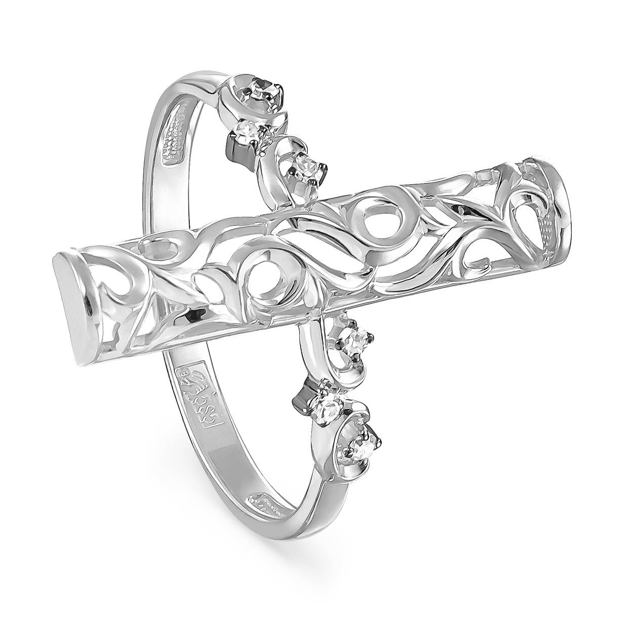 Кольцо из белого золота Бриллиант арт. 11-11091-1000 11-11091-1000