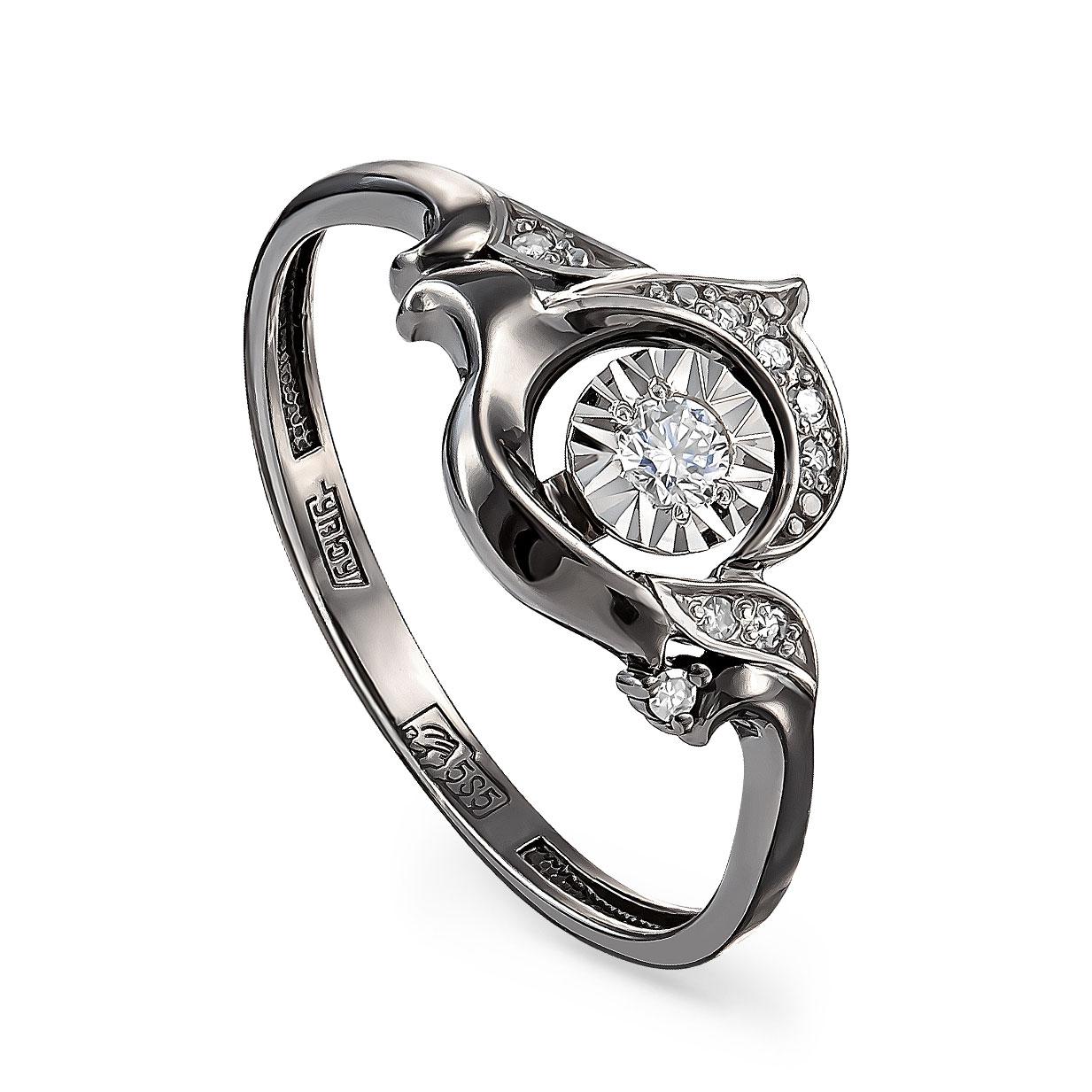 Кольцо из белого золота Бриллиант арт. 11-11216-1089 11-11216-1089