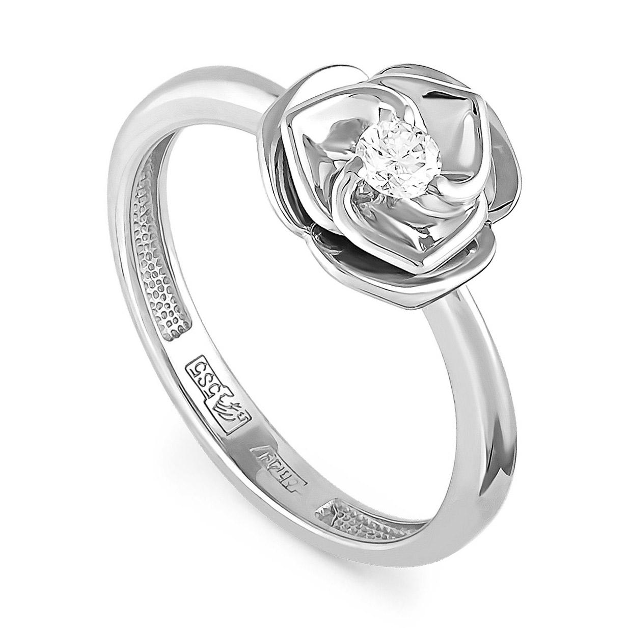 Кольцо из белого золота Бриллиант арт. 11-1799-1000 11-1799-1000