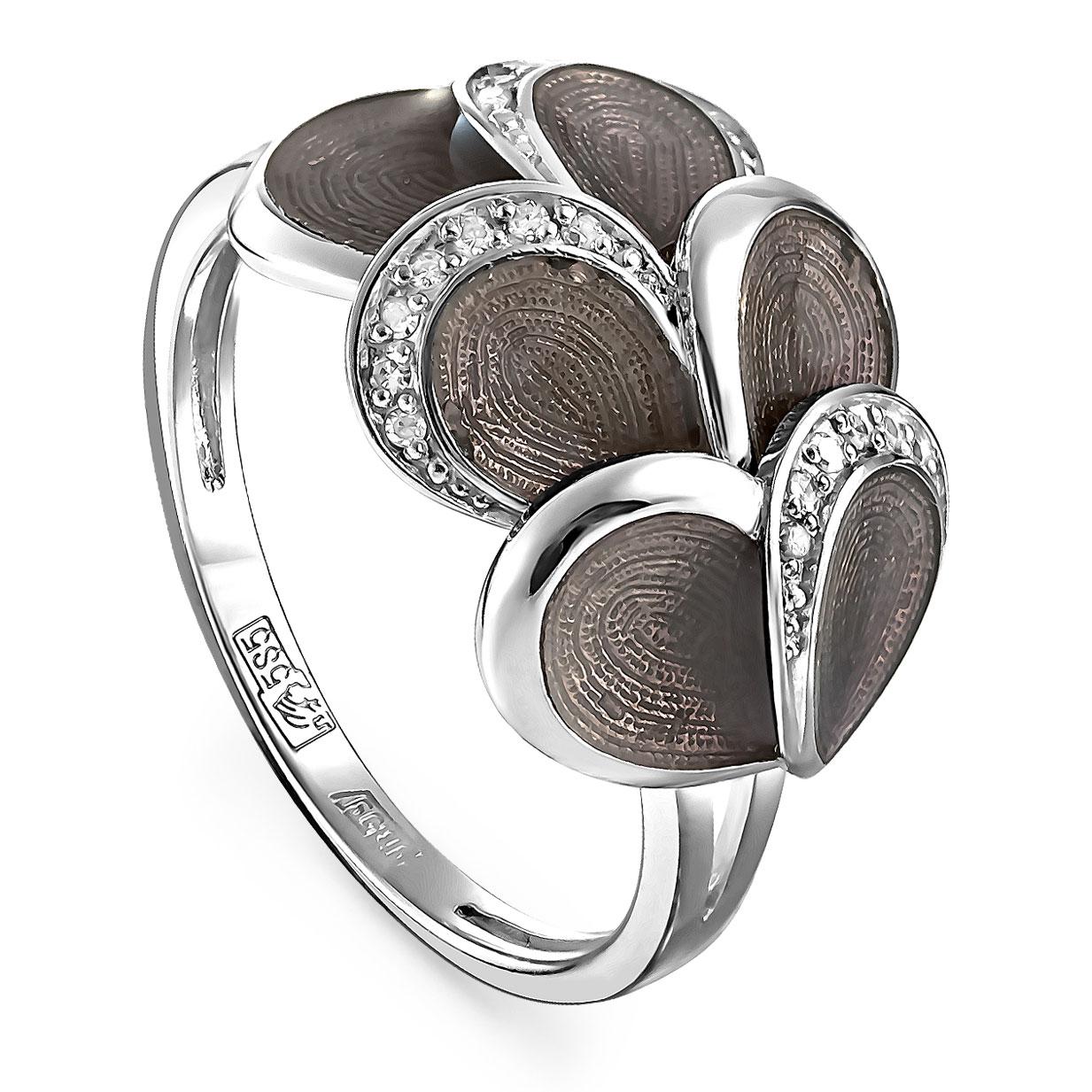 Кольцо из белого золота Бриллиант арт. 11-1911-1019 11-1911-1019