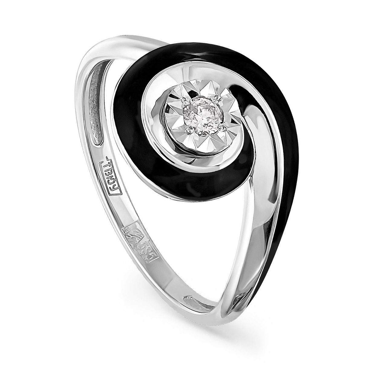 Кольцо из белого золота Бриллиант арт. 11-1935-1002 11-1935-1002