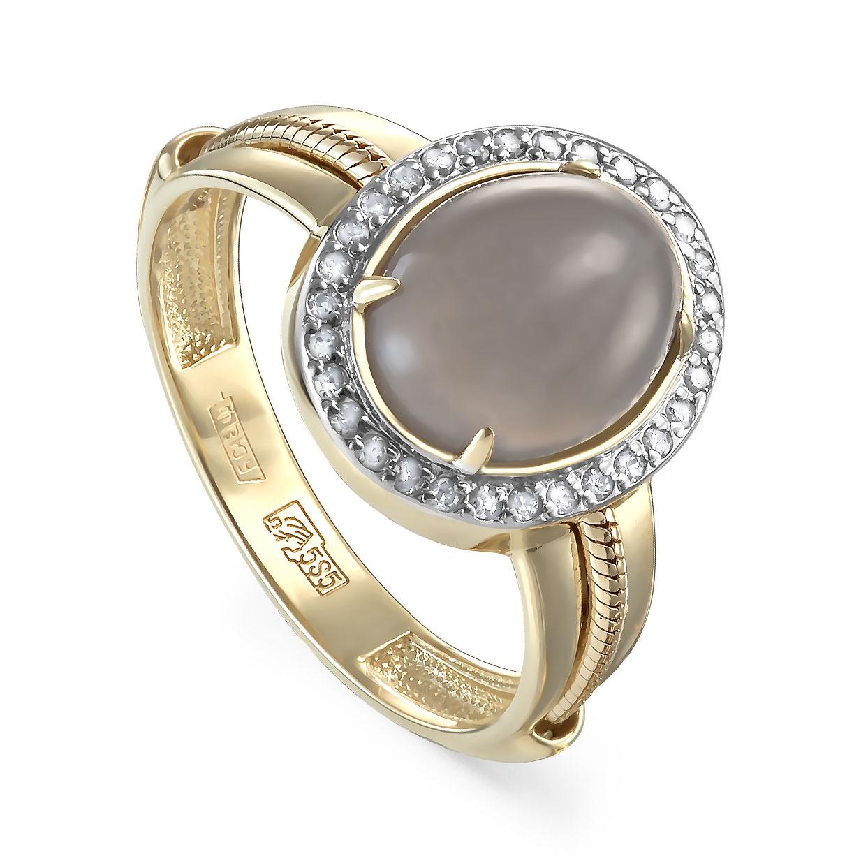 Кольцо из лимонного золота Бриллиант и Прочие арт. 11-21302-8700 11-21302-8700