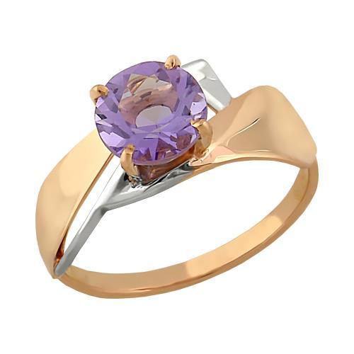 Золотое кольцо Аметист арт. 11801524 11801524