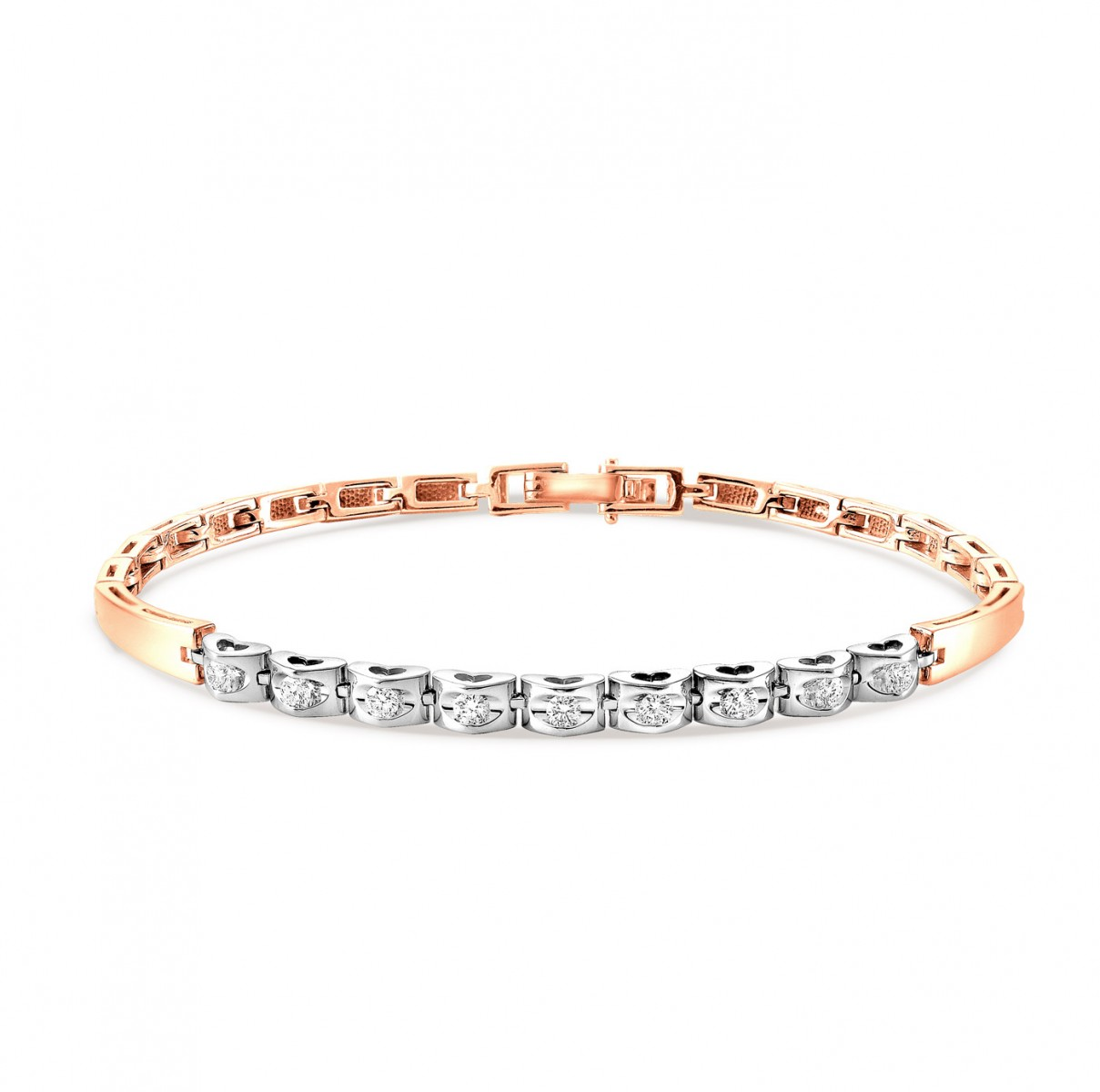 Золотой браслет с бриллиантом арт. 4-0004-1000 4-0004-1000