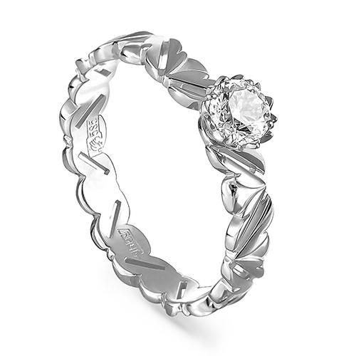 Кольцо из белого золота Бриллиант арт. 1-1501-1000 1-1501-1000