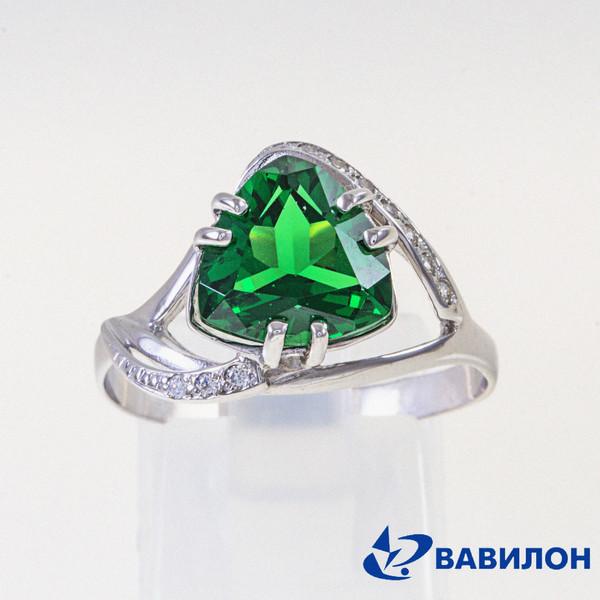 Серебряное кольцо 1502710
