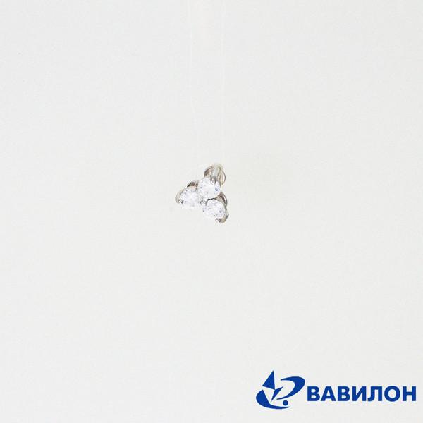 Серебряный подвес с фианитом арт. 3502251 3502251