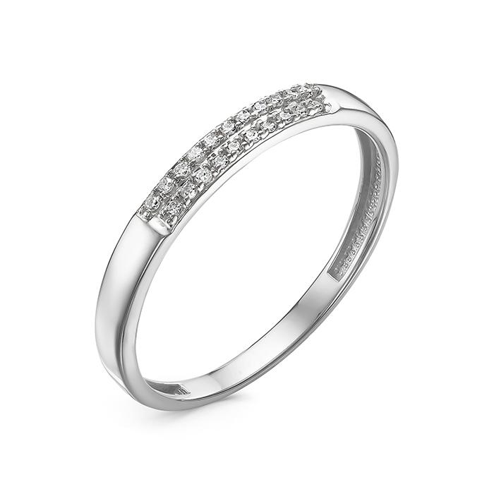 Кольцо из белого золота к0762-220