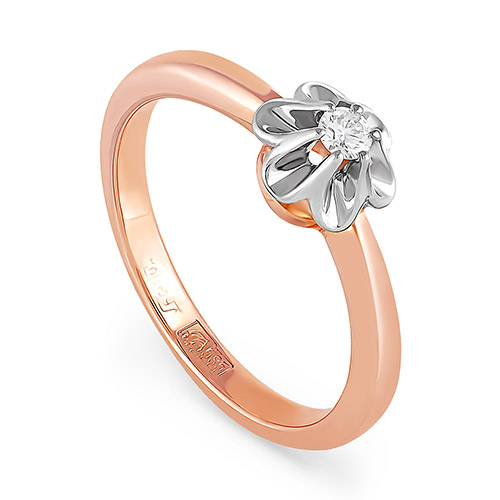 Золотое кольцо Бриллиант арт. 11-0022-1000 11-0022-1000