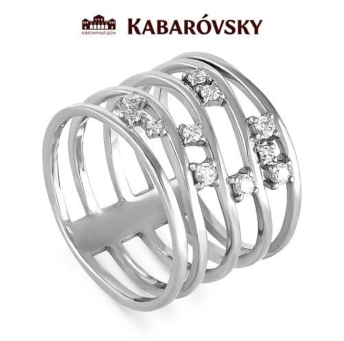 Серебряное кольцо Кристалл сваровски арт. 1-025-8100 1-025-8100