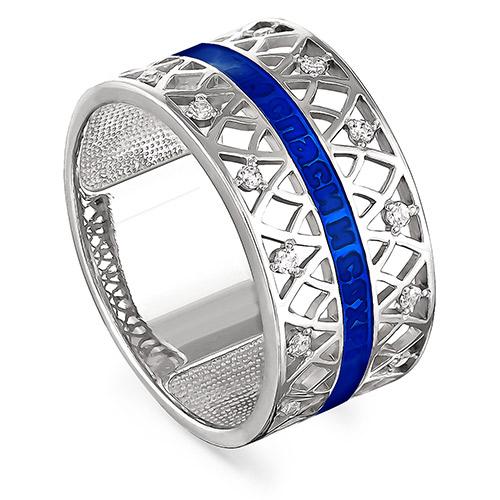 Серебряное кольцо Кристалл сваровски арт. 1-030-8107 1-030-8107