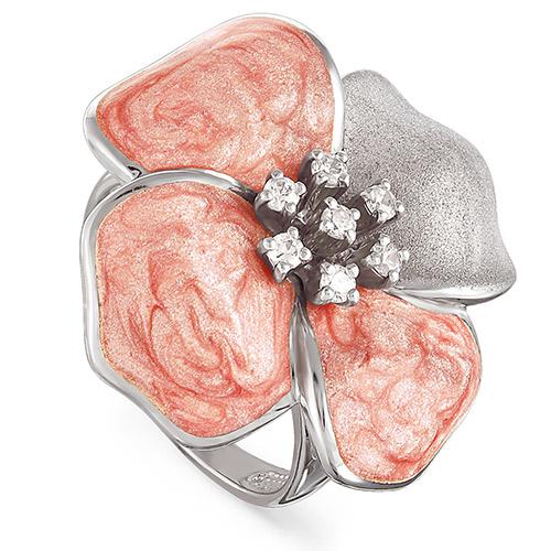 Серебряное кольцо Кристалл сваровски арт. 11-022-8111 11-022-8111