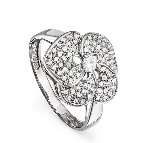 Серебряное кольцо Кристалл сваровски арт. 11-099-8100 11-099-8100