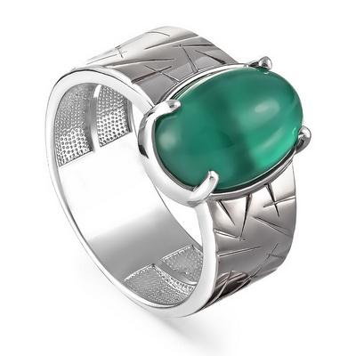 Серебряное кольцо Оникс арт. 11-190-1989 11-190-1989