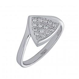 Кольцо из белого золота Бриллиант арт. 010550-б 010550-б