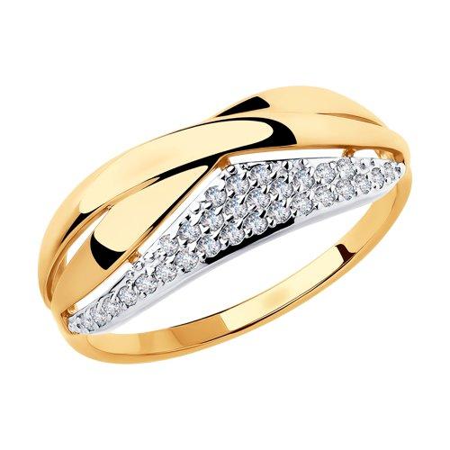 Золотое кольцо Фианит арт. 51-110-00231-1 51-110-00231-1