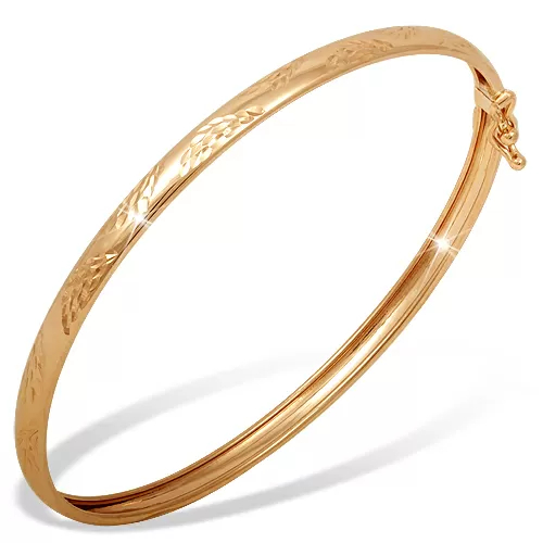 Жесткий браслет из золота арт. б1104884 б1104884