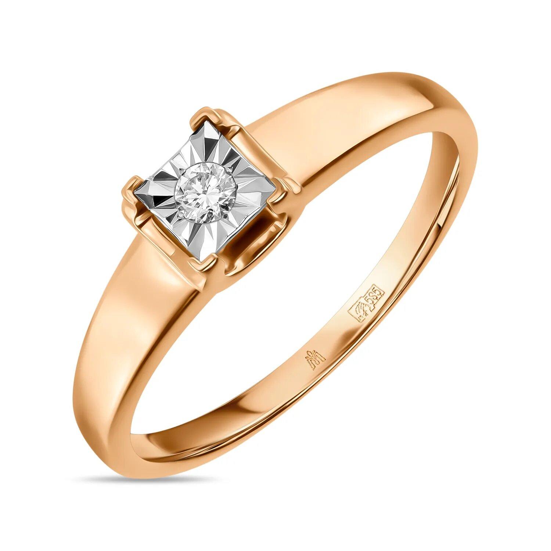 Золотое кольцо Бриллиант арт. r01-pl-35153 r01-pl-35153