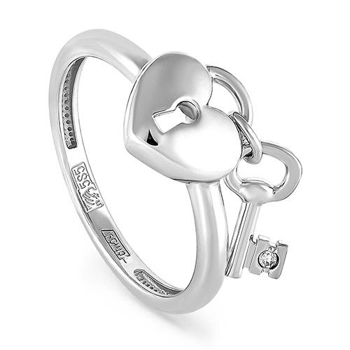 Кольцо из белого золота Бриллиант арт. 1-1294-1000 1-1294-1000