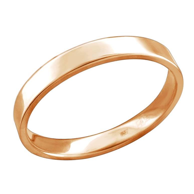 Обручальное кольцо из золота арт. 01о010464 01о010464